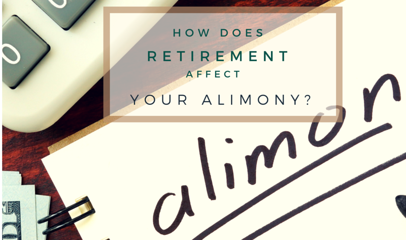 how does retirement affect alimony talk to your divorce attorney Quincy MA1