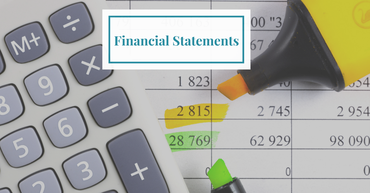 Financial Statments