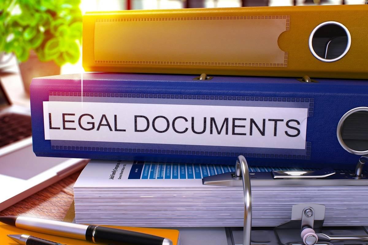 Legal Documents Litigation Attorneys