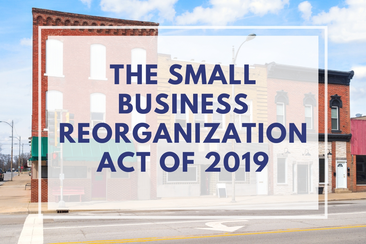 Small Business Reorganization Act Massachusetts - Quincy Lawyers